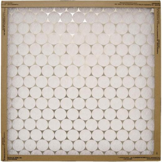 Flanders PrecisionAire 12 In. x 24 In. x 1 In. EZ Flow Heavy-Duty MERV 4 Furnace Filter