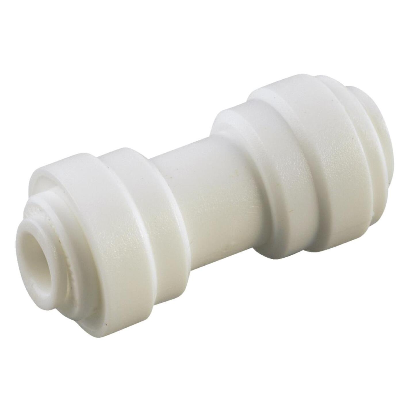Anderson Metals 1/2 In. x 3/8 In. Reducing Push-In Plastic Coupling Image 1