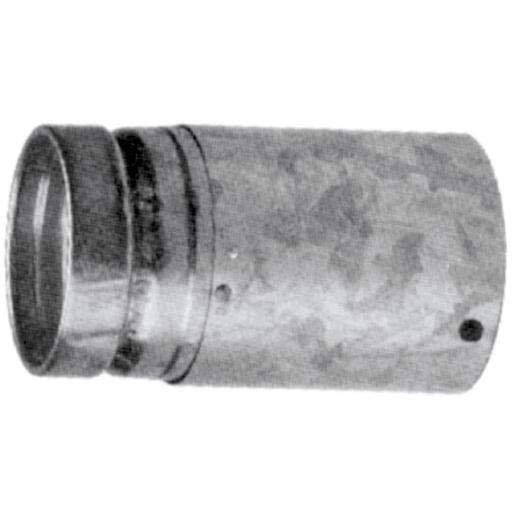 SELKIRK RV 5 In. x 12 In. Adjustable Round Gas Vent Pipe