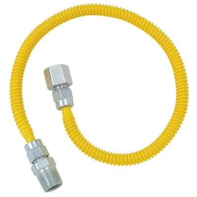 BrassCraft ProCoat 3/8 In. x 1/4 In. x 18 In. Gas Connector