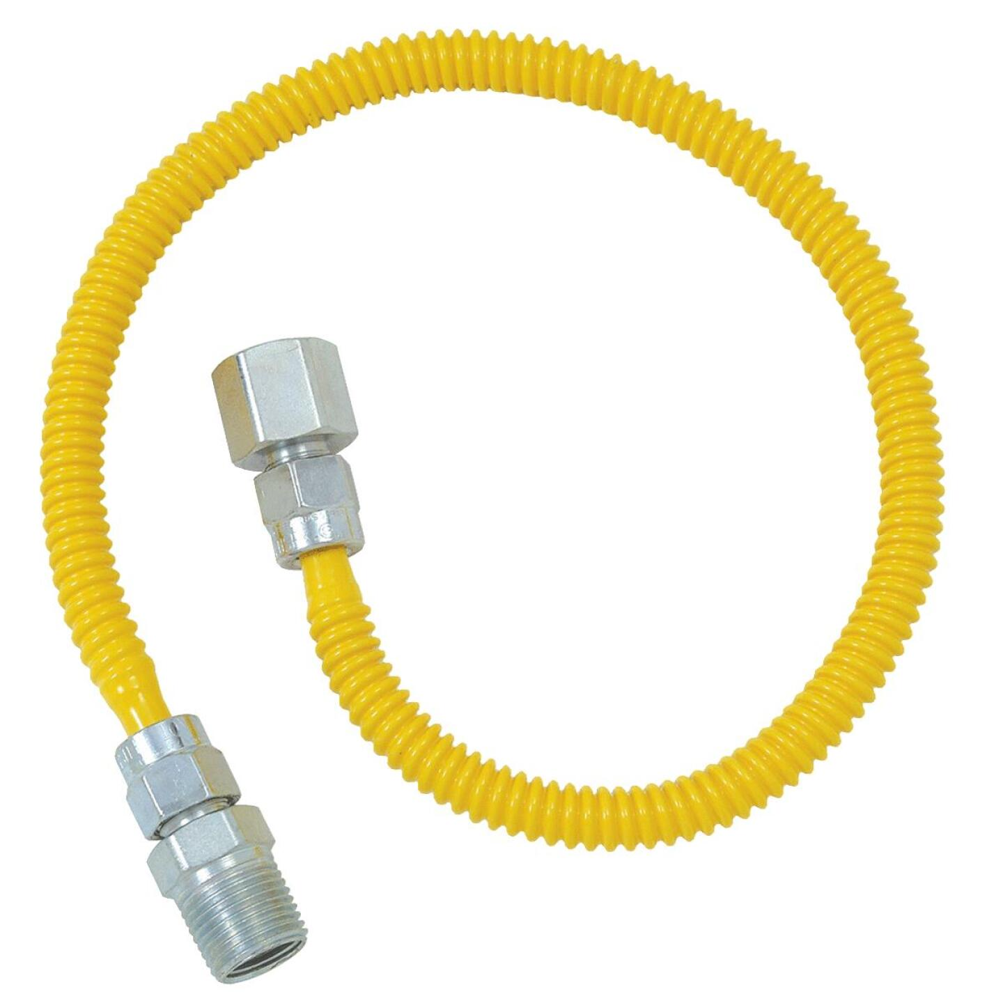 BrassCraft ProCoat 3/8 In. x 1/4 In. x 60 In. Gas Connector Image 1