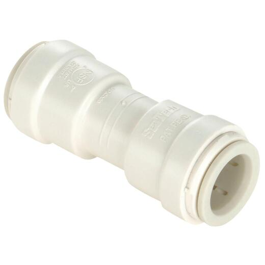 Watts 3/8 In. x 3/8 In. Quick Connect Plastic Coupling
