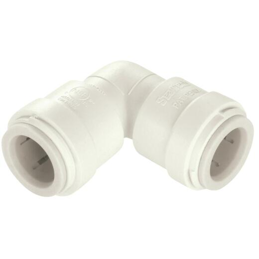 Watts 3/8 In. x 3/8 In. CTS Quick Connect Plastic Elbow