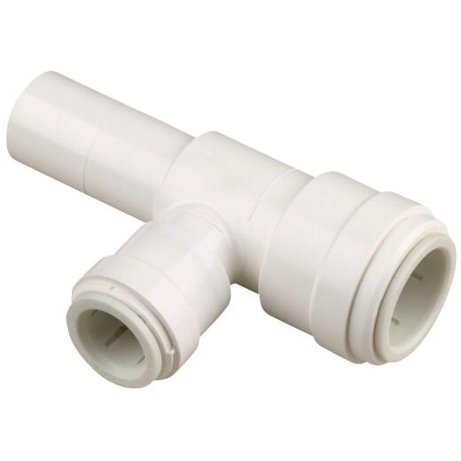 Watts 3/8 In. x 3/8 In. x 3/8 In. Stackable Quick Connect Plastic Tee