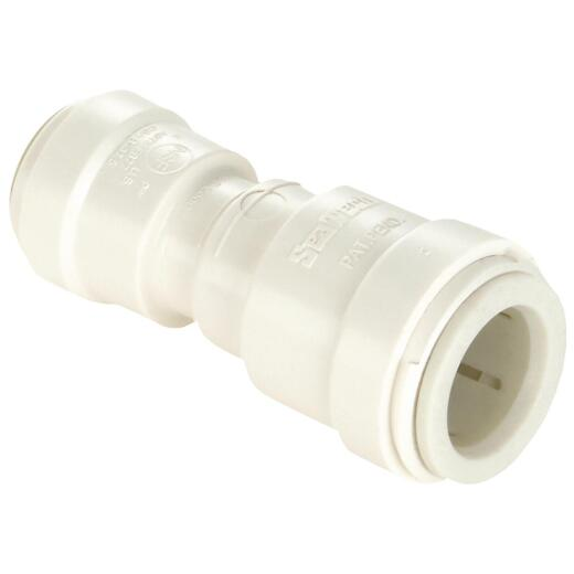 Watts 1/2 In. x 1/4 In. Reducer Quick Connect Plastic Coupling