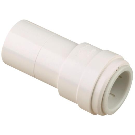 Watts 1/2 In. x 3/8 In. Quick Connect Stackable Plastic Coupling