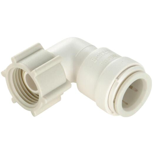 Watts 1/2 In. CTS x 1/2 In. FPT Quick Connect Plastic Elbow
