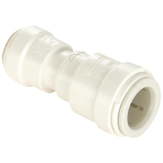 Watts 3/4 In. x 1/2 In. Reducer Quick Connect Plastic Coupling