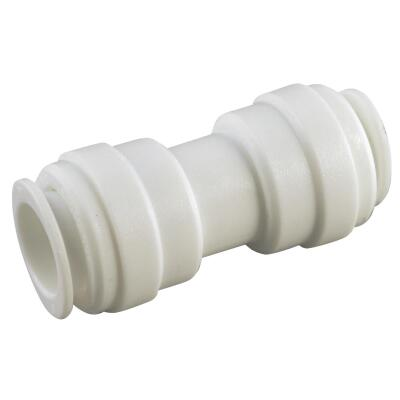 Anderson Metals 3/8 In. x 3/8 In. Push-In Plastic Coupling