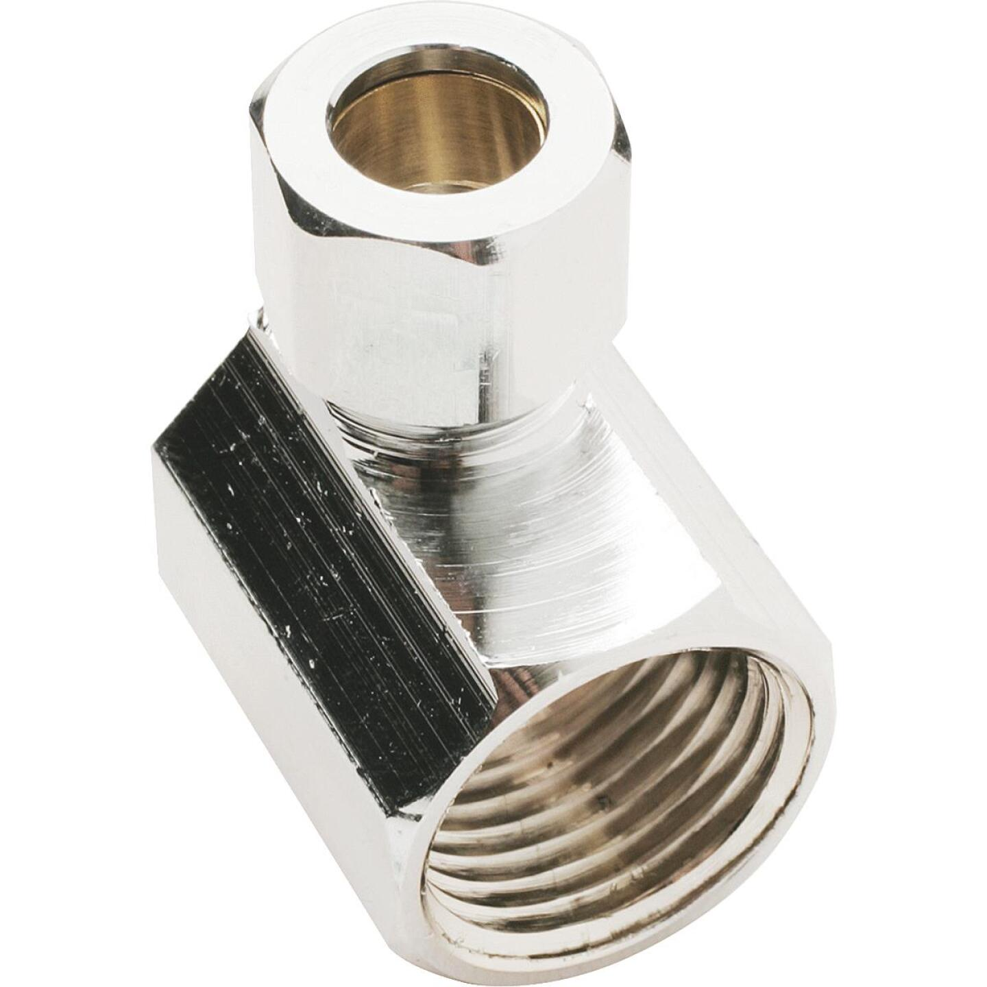 Do it 1/2 In. FIP X 3/8 In. OD Angle Connector Image 1