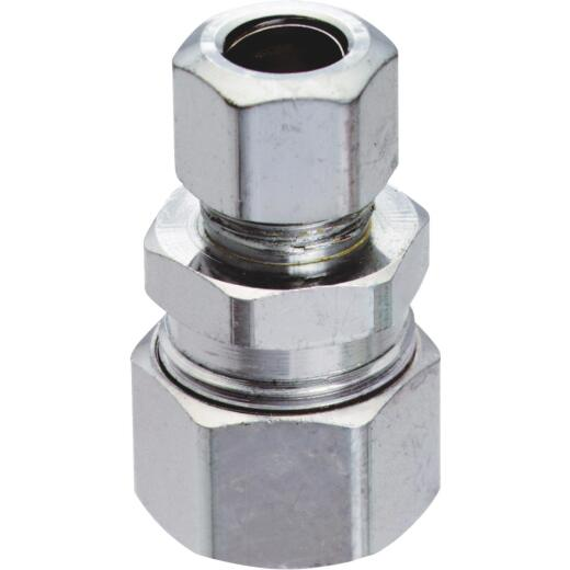 """Do it 3/8"""" OD x 3/8"""" or 1/2"""" Tubes Single Lever Faucet Adapter (2-Pack)"""