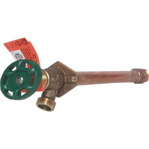 Arrowhead Brass 1/2 In. X 1/2 In. MIP X 3/4 In. HT X 6 In. Anti-Siphon Frost Free Wall Hydrant