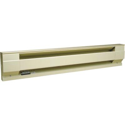 Cadet 36 In. 750-Watt 240-Volt Electric Baseboard Heater, Almond