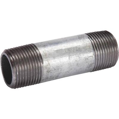 Southland 1-1/4 In. x 4 In. Welded Steel Galvanized Nipple