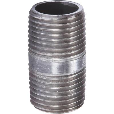 Southland 3/8 In. x Close Welded Steel Galvanized Nipple
