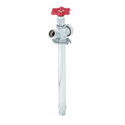 ProLine 1/2 In. SWT X 1/2 In. MIP X 8 In. Anti-Siphon Frost Free Wall Hydrant