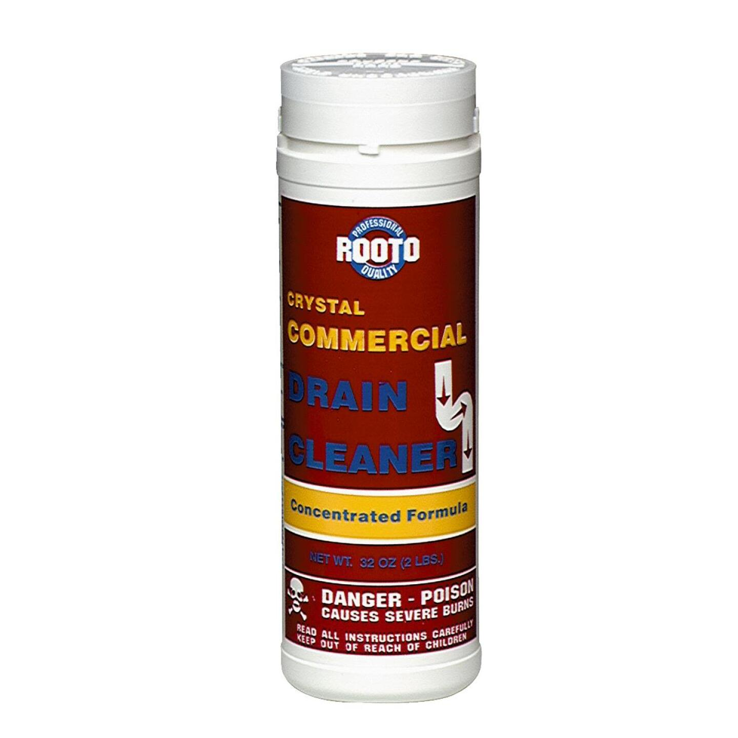 Rooto 2 Lb. Crystal Commercial Drain Cleaner  Image 1