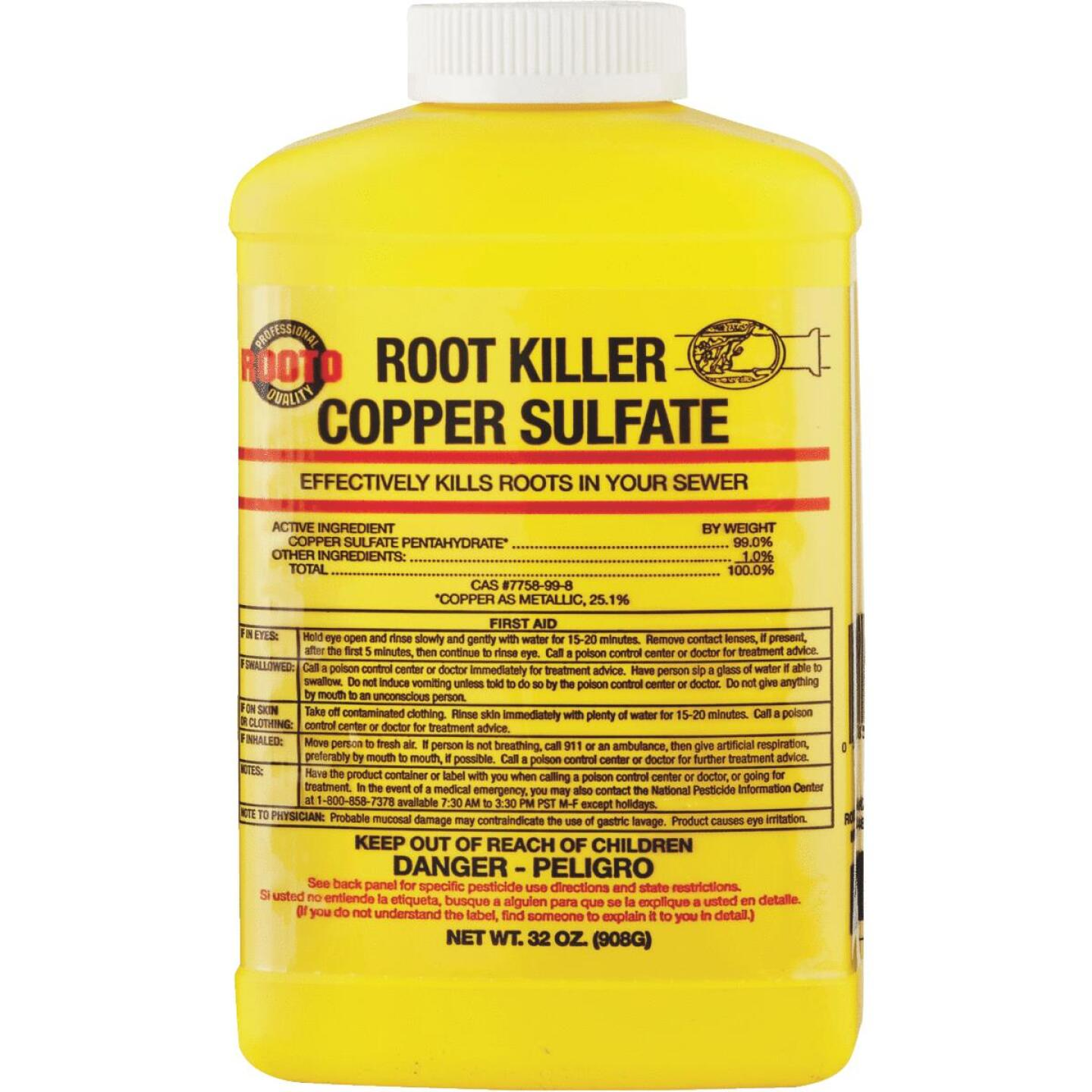 Rooto 2 Lb. Liquid Root Killer Image 1