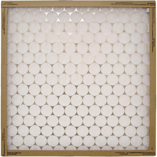 Flanders PrecisionAire 14 In. x 30 In. x 1 In. EZ Flow Heavy-Duty MERV 4 Furnace Filter