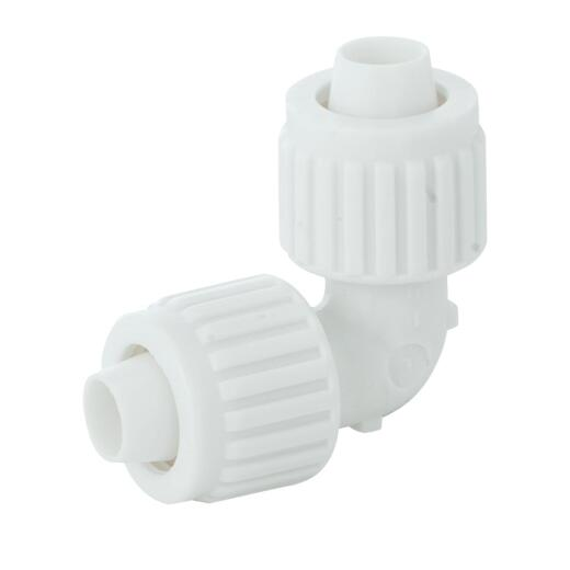 Flair-It 1/2 In. x 1/2 In. Plastic Compression PEX Elbow