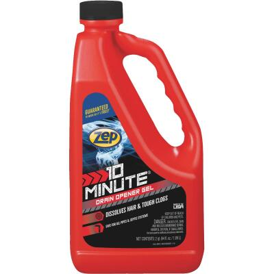 Zep Commercial 64 Oz. Gel 10 Minute Drain Cleaner