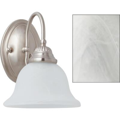 Home Impressions Julianna 1-Bulb Brushed Nickel Wall Light Fixture