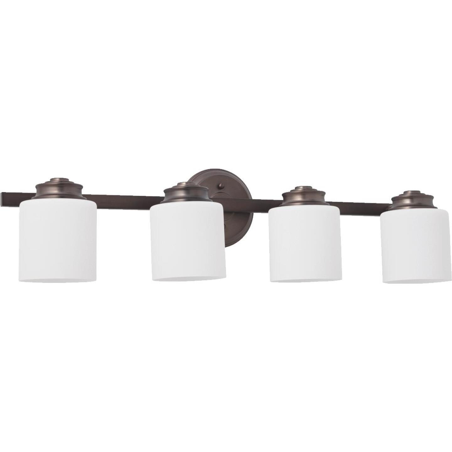 Home Impressions Crawford 4-Bulb Oil Rubbed Bronze Bath Light Bar Image 1