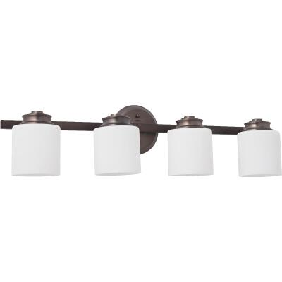 Home Impressions Crawford 4-Bulb Oil Rubbed Bronze Bath Light Bar