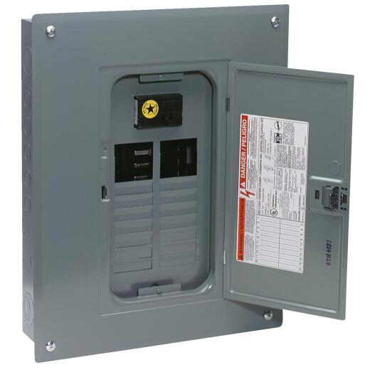 Square D QO 100A 24-Space 24-Circuit Indoor Main Breaker Plug-on Neutral Load Center