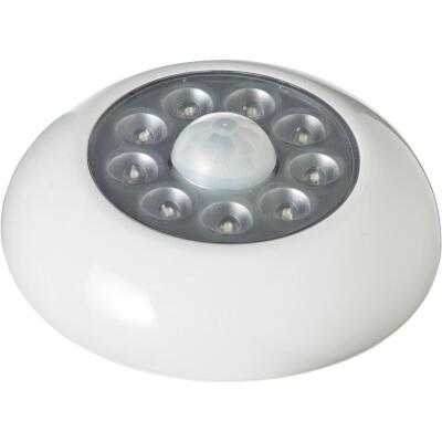 Light It 9-Bulb White LED Battery Tap Light