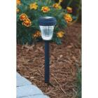 Outdoor Expressions Black 2.10 Lumens Plastic Solar Path Light Image 2