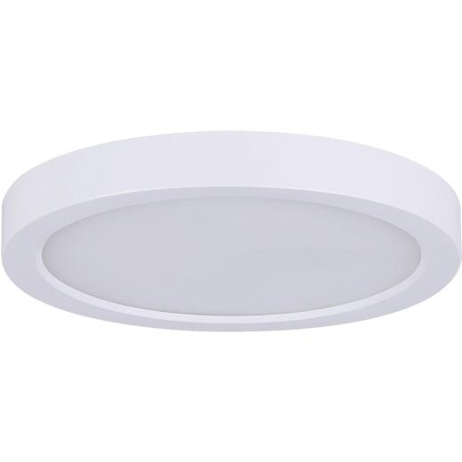 Canarm 7 In. White LED Disc Flush Mount Light Fixture