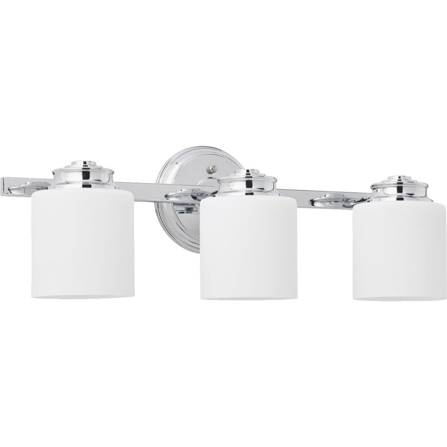 Home Impressions Crawford 3-Bulb Polished Chrome Bath Light Bar Image 1