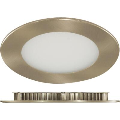 Liteline Trenz ThinLED 4 In. New Construction/Remodel IC Rated White 575 Lm. 3000K Recessed Light Kit
