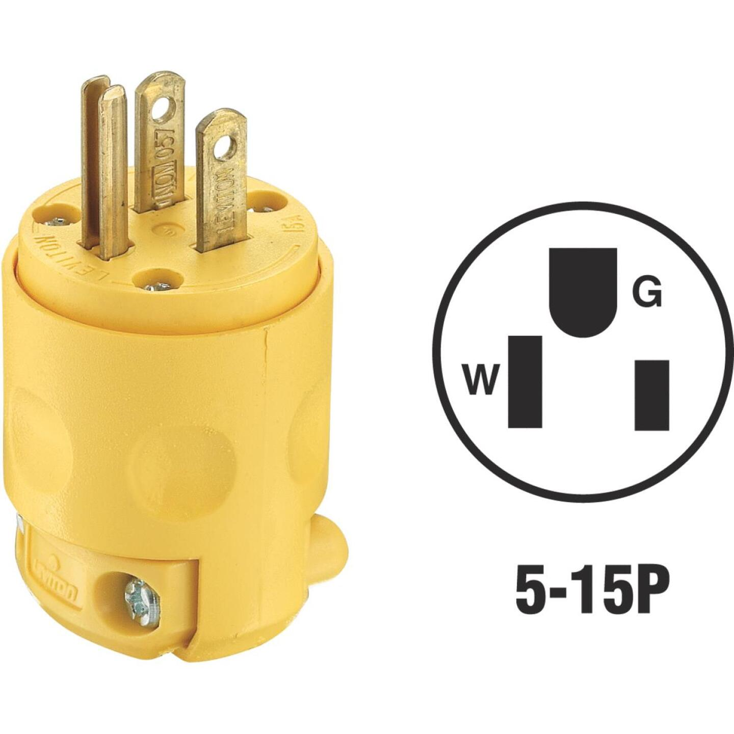 Do it 15A 125V 3-Wire 2-Pole Residential Grade Cord Plug Image 1
