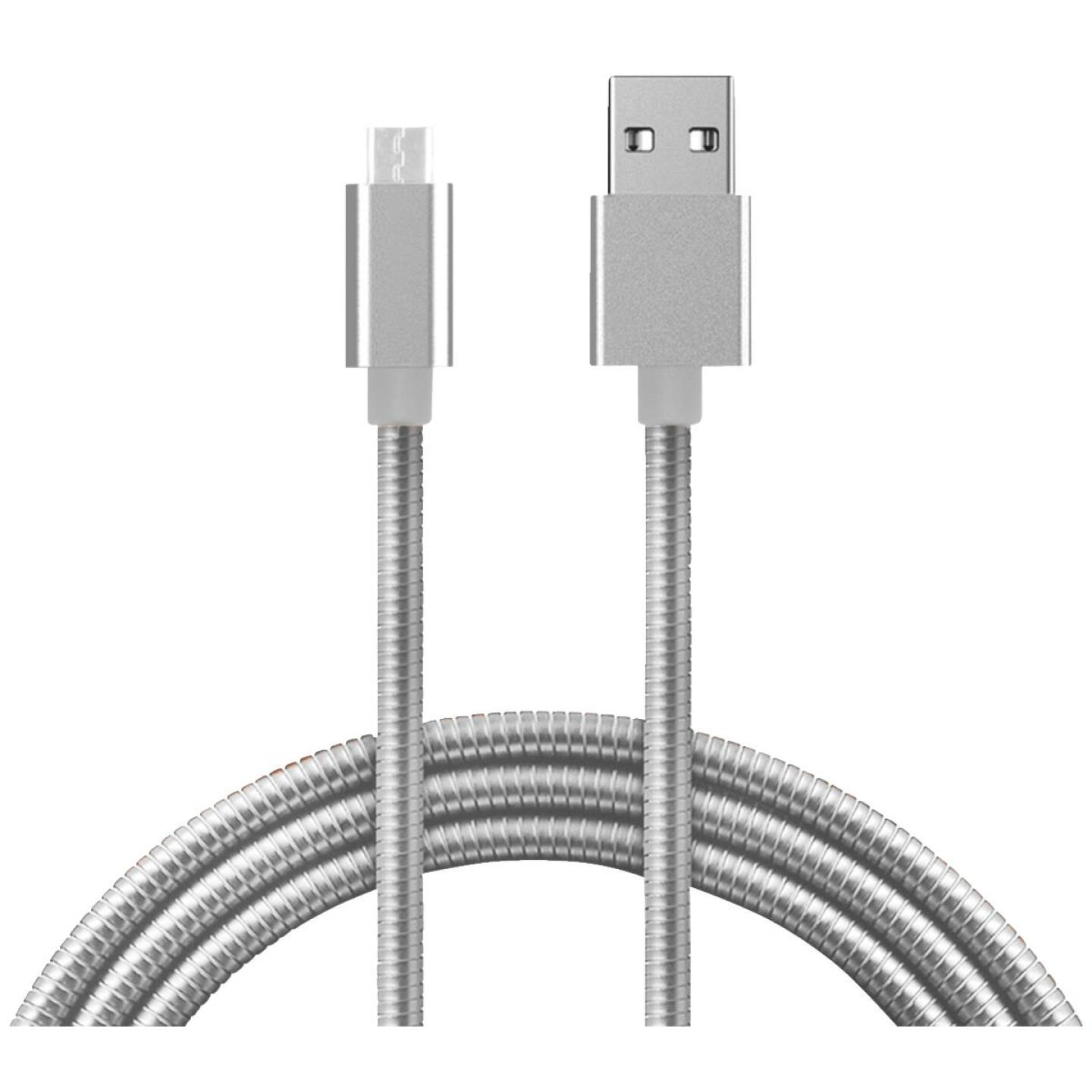 Fuse 3 Ft. Metal Micro USB Charging & Sync Cable Image 2