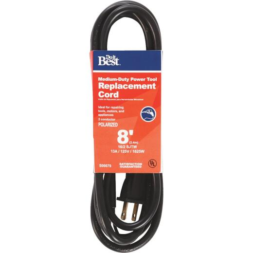 Do it Best 8 Ft. 16/2 13A Power Tool & Large Appliance Cord