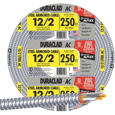Southwire 250 Ft. 12/2 AC Armored Cable