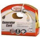Coleman Cable Pro-Power 3 Ft. 12/4 Generator Cord Image 1