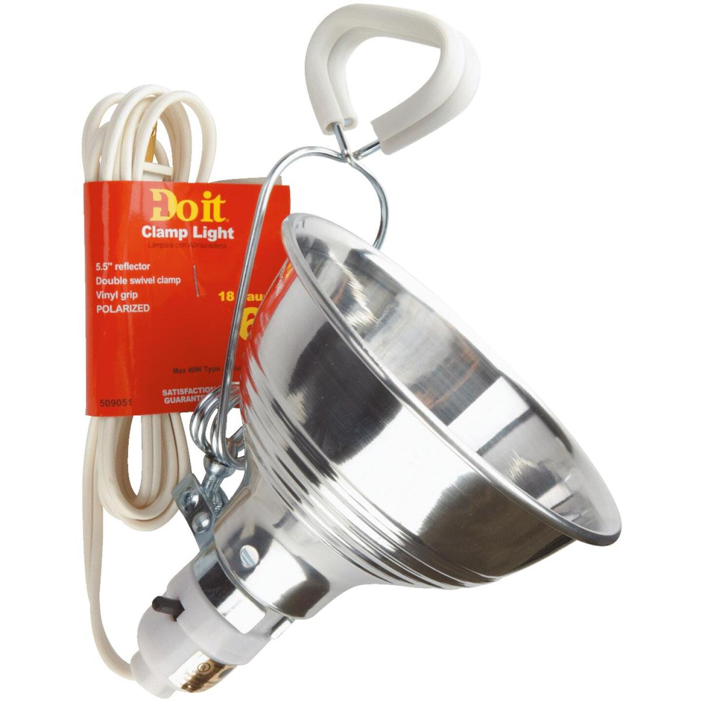 Do it 60W 5-1/2 In. Utility Clamp Lamp Image 1