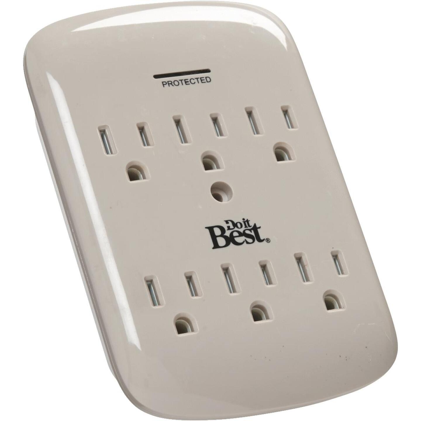 Do it Best 6-Outlet 15A Gray Surge Tap Image 2