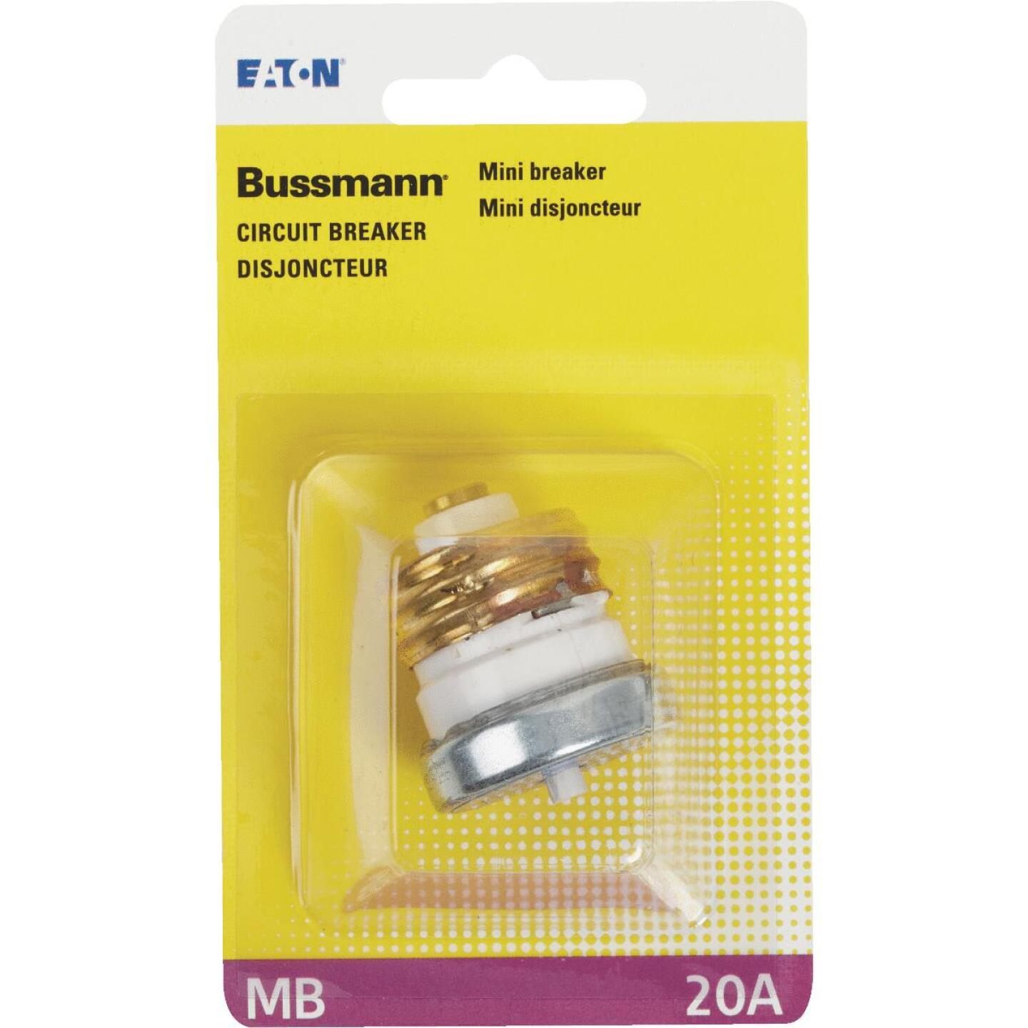Bussmann 20A 125V Time-Delay Mini-Breaker Image 2