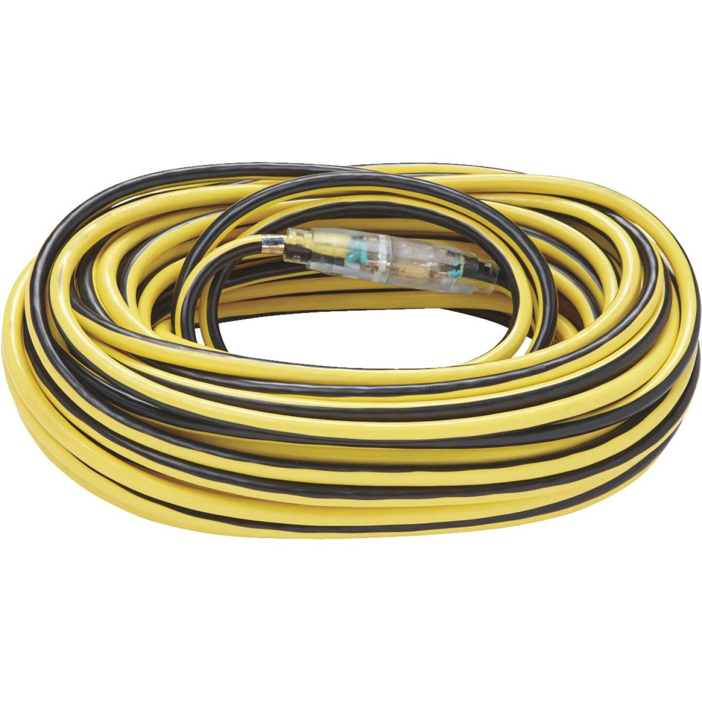 Do it Best 100 Ft. 12/3 Extra Heavy-Duty Contractor Extension Cord Image 2