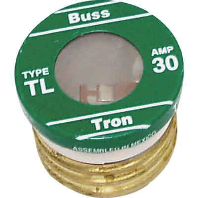 Bussmann 30A BP/TL Time-Delay Plug Fuse (3-Pack)