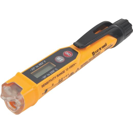 Klein Non-Contact Voltage Tester with Thermometer