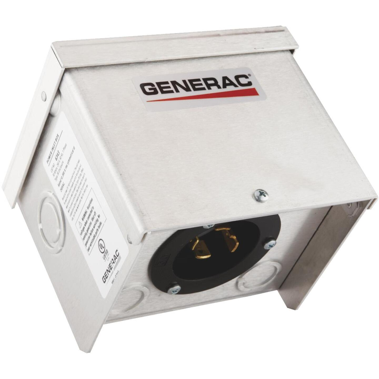 Generac 30A Outdoor Generator Power Inlet Box Image 1