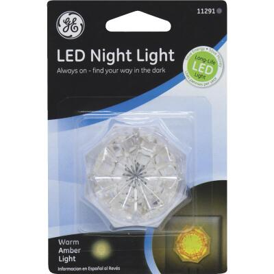 GE Warm Amber LED Night Light