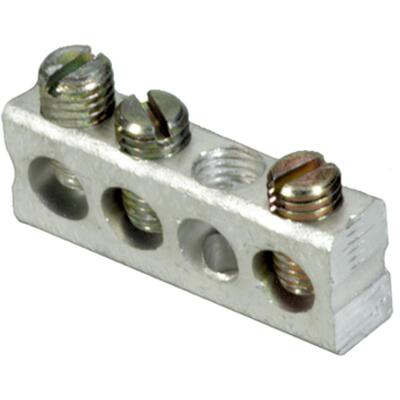 Square D 3-Terminal QO & Homeline Aluminum Ground Bar Kit