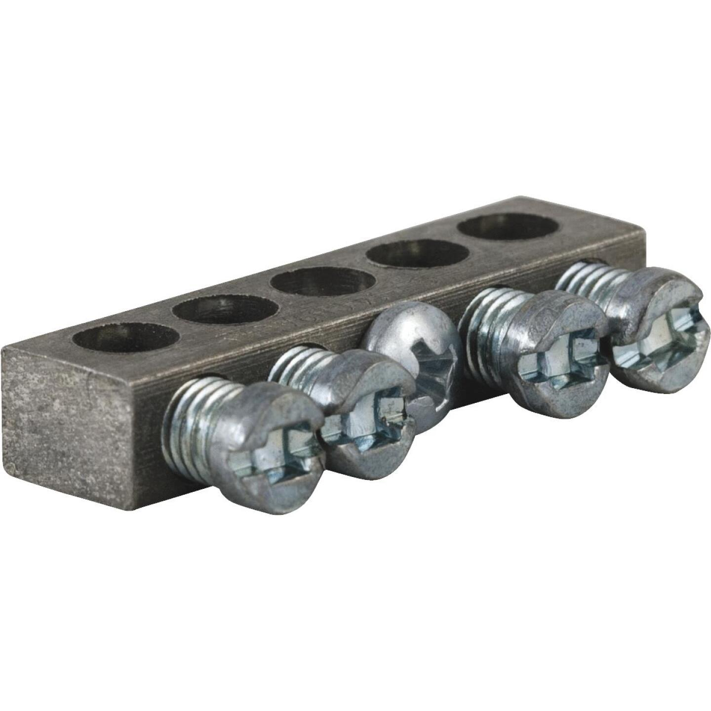 Square D 4-Terminal QO & Homeline Aluminum Ground Bar Kit Image 1