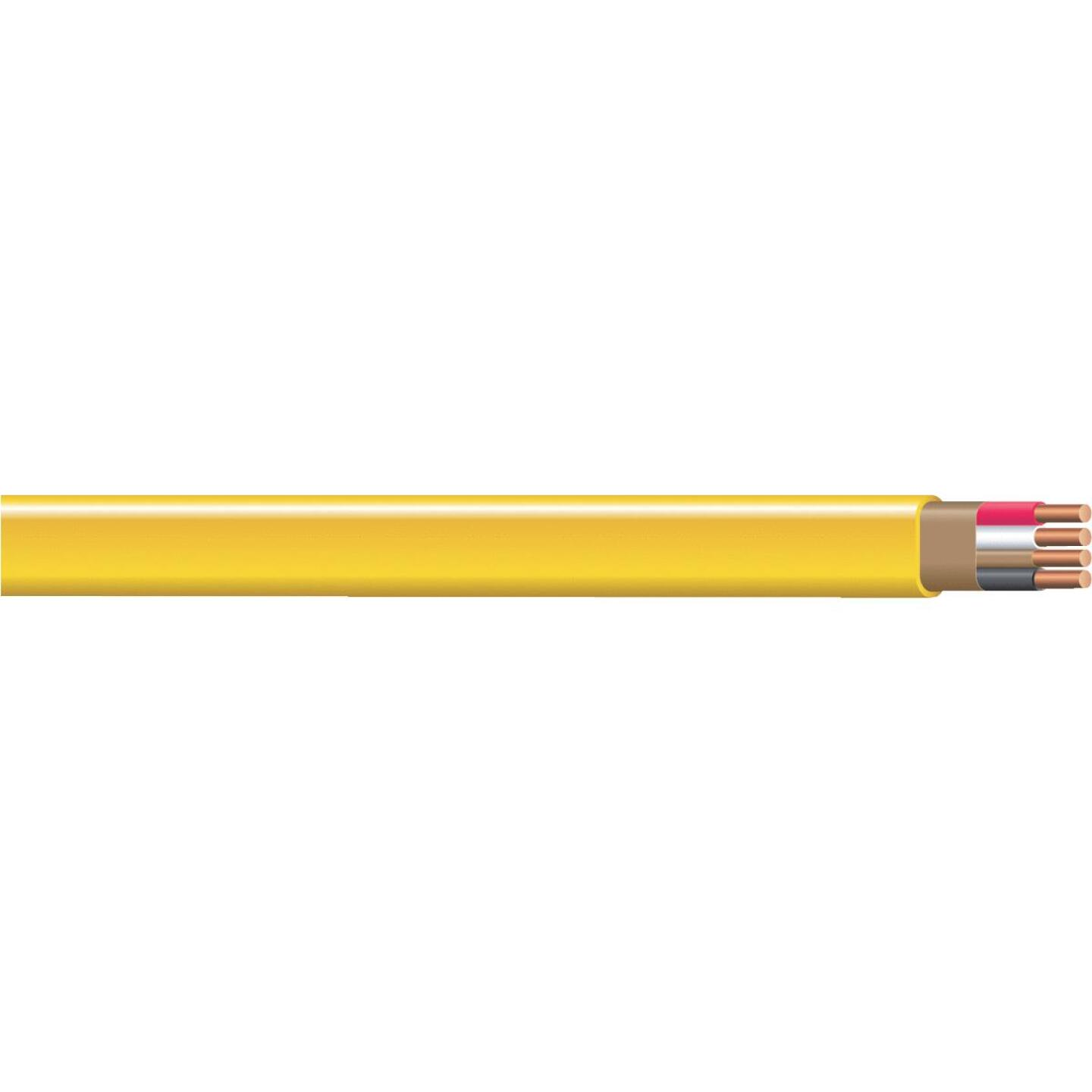 Romex 25 Ft. 12-3 Solid Yellow NMW/G Wire Image 1